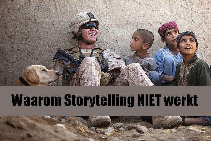 StoryTELLING werkt helemaal niet. StorySHOWING wél. Hoe zit dat precies?